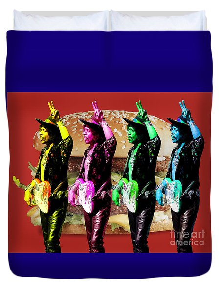 Iconic Experience Duvet Cover by Keith Dillon