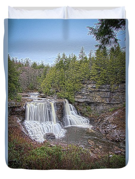 Iconic Falls Duvet Cover