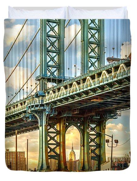 Iconic Manhattan Duvet Cover
