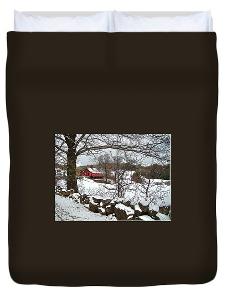 Iconic New Hampshire Duvet Cover