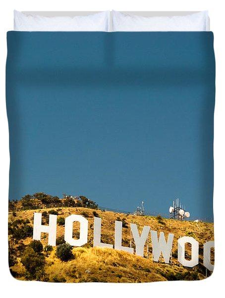Iconic Shot - Beachwood Canyon Duvet Cover