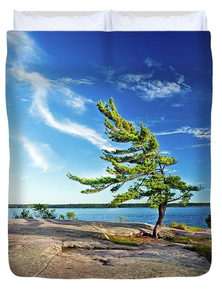 Iconic Windswept Pine Duvet Cover