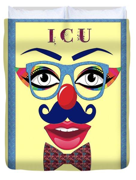 ICU Duvet Cover