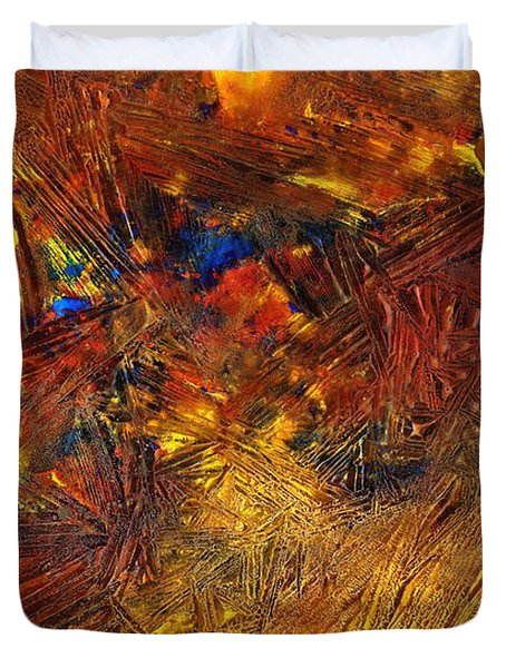 Icy Abstract 11 Duvet Cover