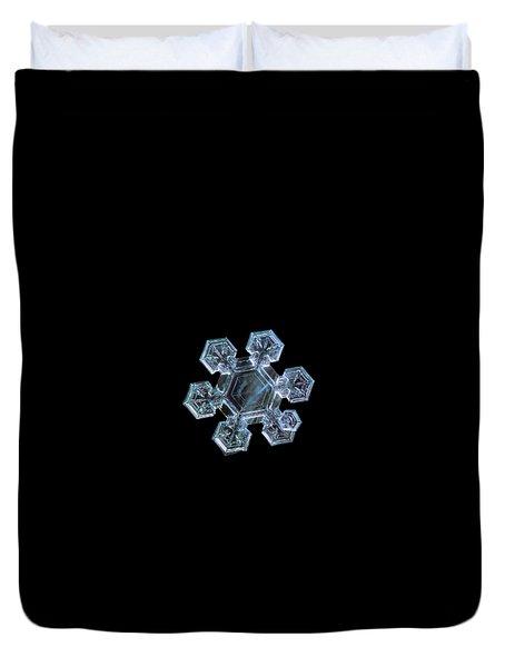 Icy Jewel, Panoramic Version Duvet Cover
