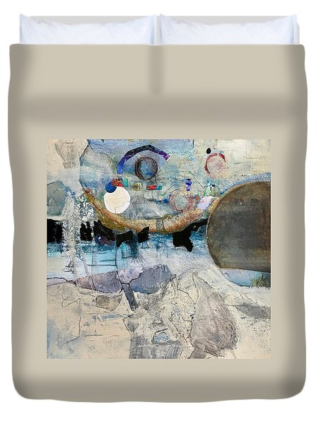 Icy Moon Duvet Cover