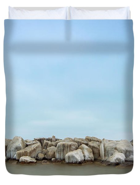 Icy Morning Duvet Cover