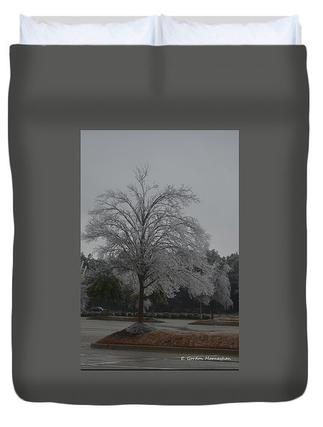 Icy Tree Duvet Cover