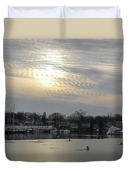 Icy Winter Duvet Cover