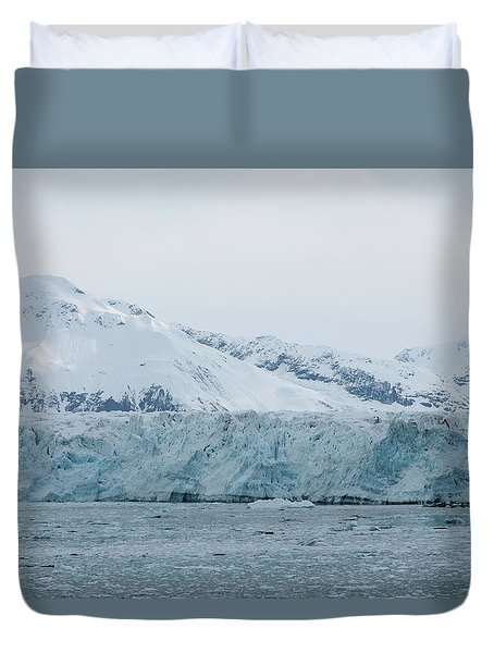 Duvet Cover featuring the photograph Icy Wonderland by Brandy Little