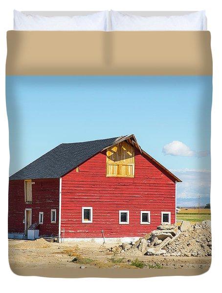 Idaho Barn Duvet Cover