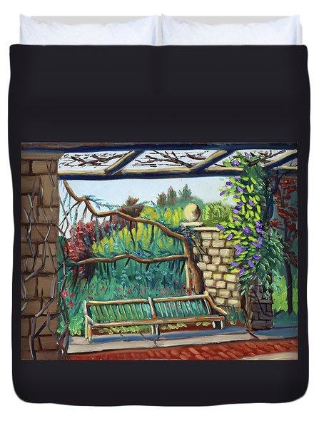 Idaho Botanical Gardens Duvet Cover