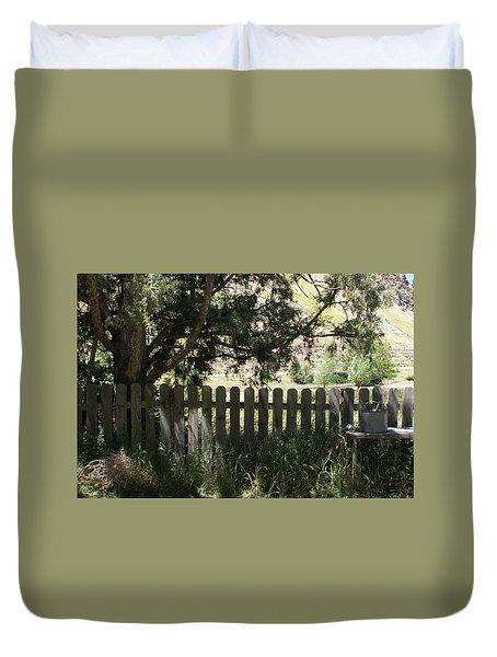 Idaho Farm1 Duvet Cover by Cynthia Powell