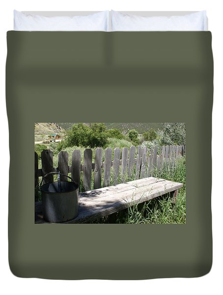 Idaho Farm2 Duvet Cover