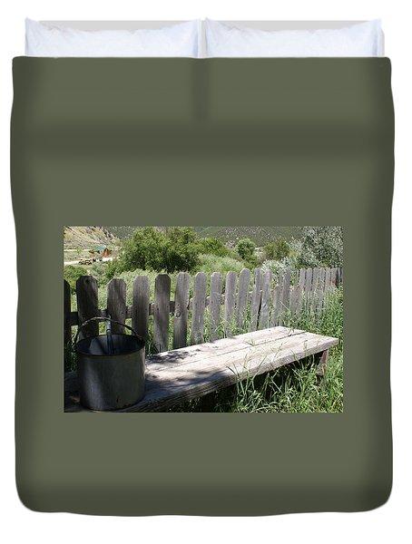 Idaho Farm2 Duvet Cover by Cynthia Powell
