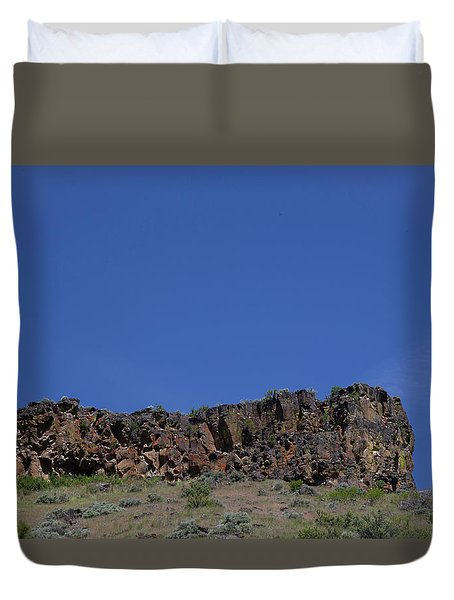 Duvet Cover featuring the photograph Idaho Landscape by Dart Suze Humeston
