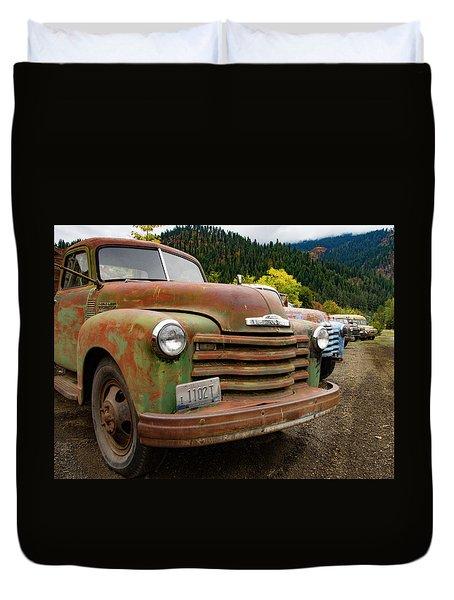 Idaho Lineup Duvet Cover