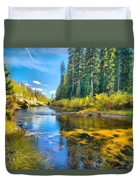 Idaho Stream 2 Duvet Cover