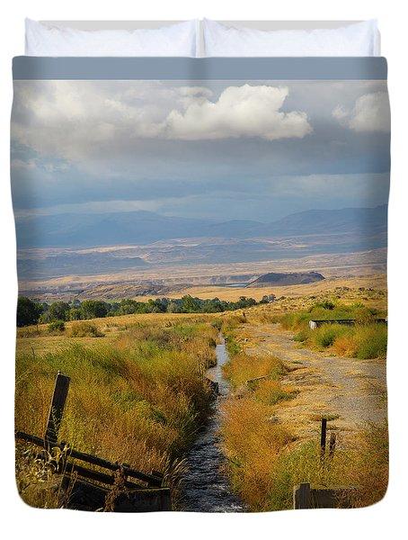Idaho Stream Duvet Cover