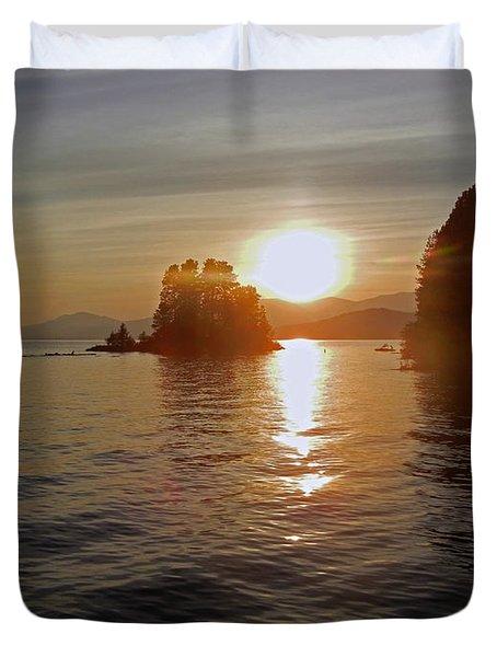 Idaho Sunset Duvet Cover