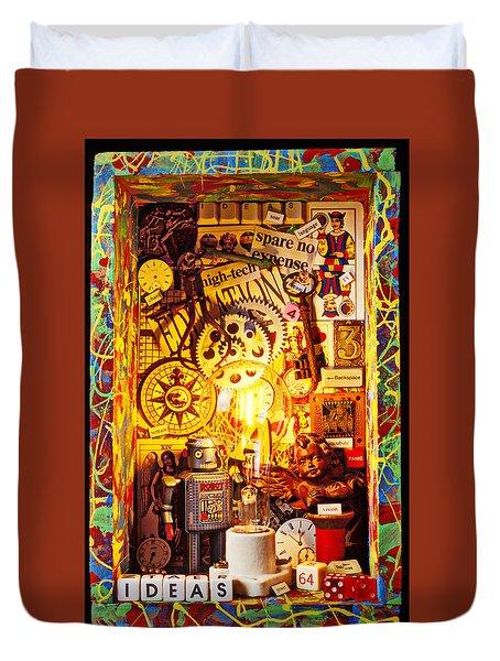 Ideas Duvet Cover by Garry Gay