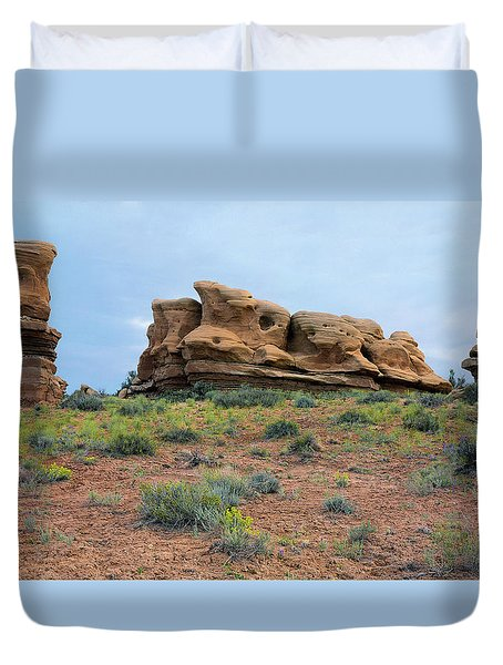 Idol Time Pano Version Duvet Cover