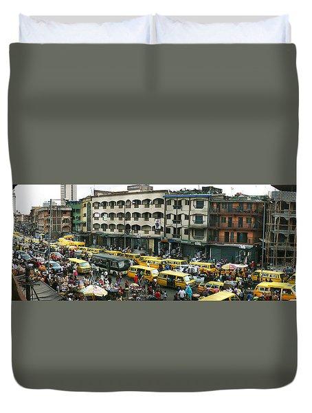 Idumota, Lagos Duvet Cover