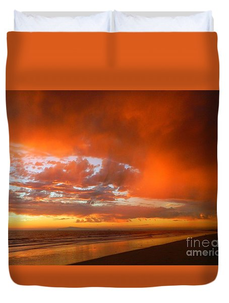 If I Could Touch The Sky Duvet Cover by Everette McMahan jr