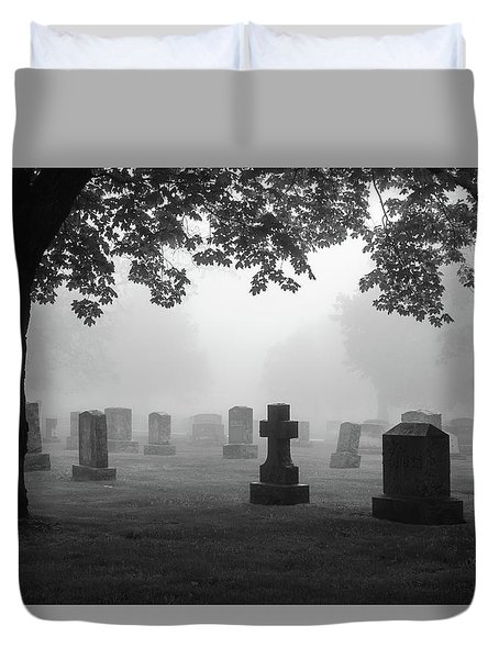 Duvet Cover featuring the photograph If I Could Turn Back Time... by Mary Amerman
