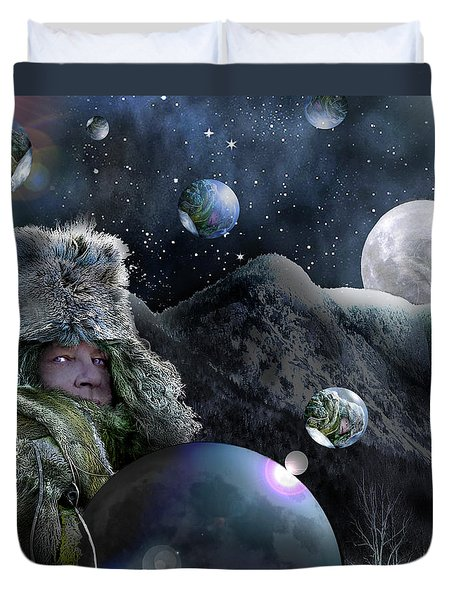 If I Were The Moon Duvet Cover