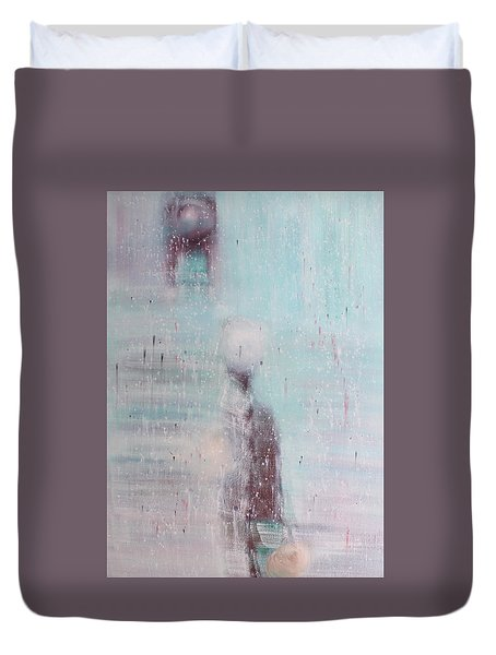 If The Human Society  Still Needs Painting Duvet Cover