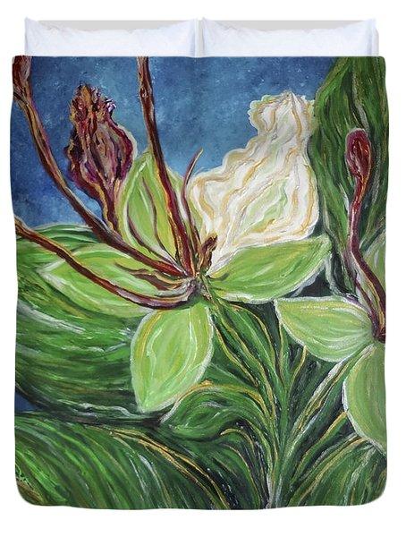 Ifit Flower Guam Duvet Cover