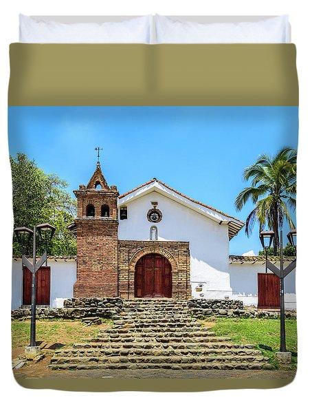 Iglesia De San Antonio Duvet Cover