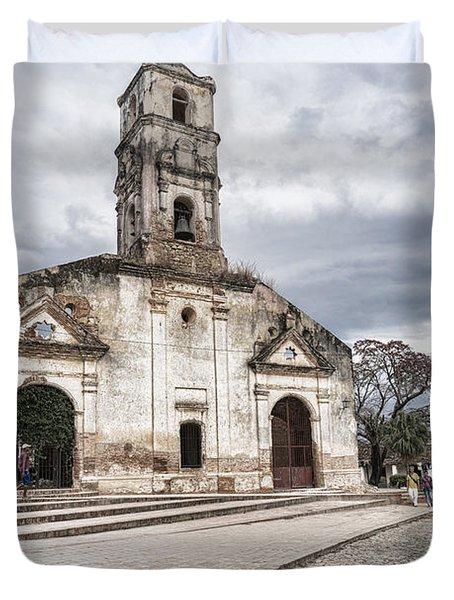 Iglesia De Santa Ana Duvet Cover