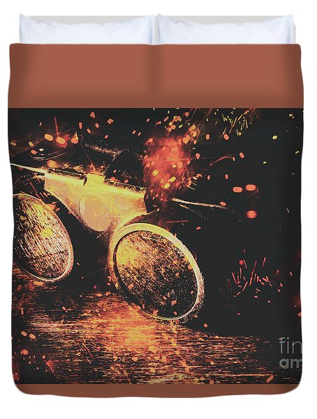 Ignite And Inspire Duvet Cover