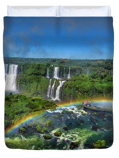 Iguazu Panorama Duvet Cover