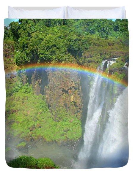 Iguazu Rainbow Duvet Cover