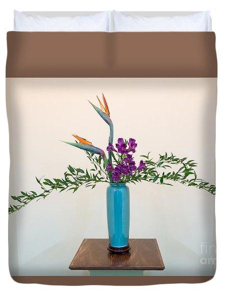 Ikebana Art Duvet Cover