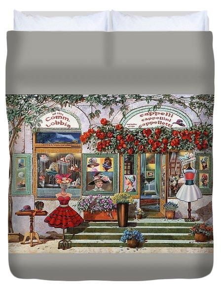 il Cappellaio Duvet Cover