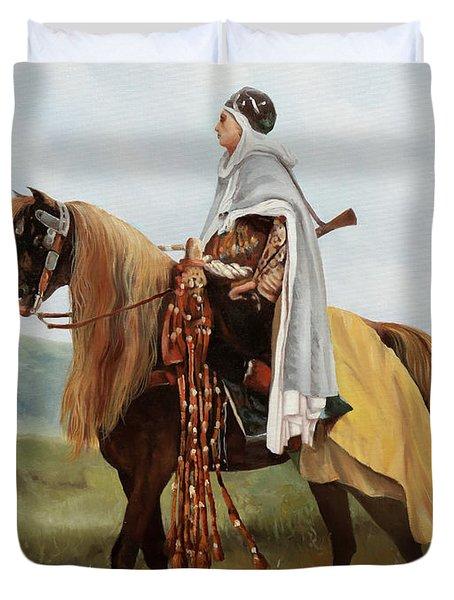 Il Cavaliere Giallo Duvet Cover