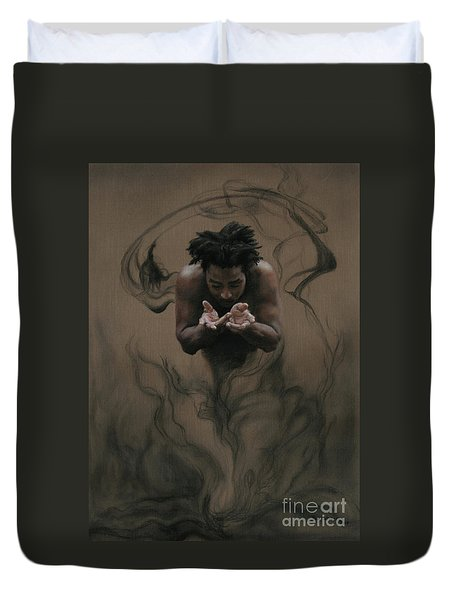 Il Dono The Gift Duvet Cover by Kelly Borsheim