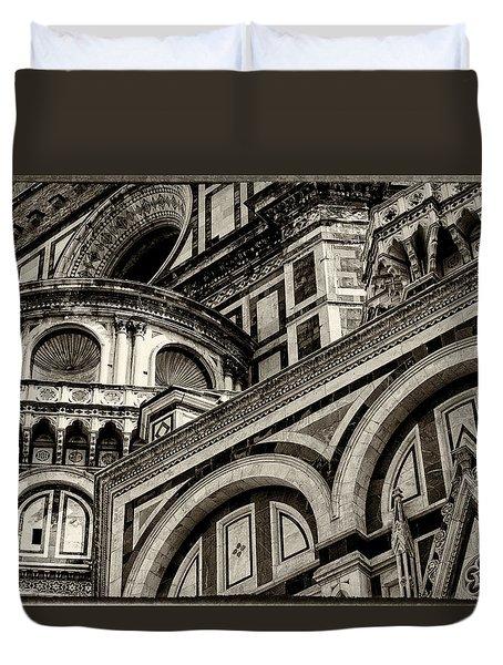 Il Duomo Di Firenze Duvet Cover
