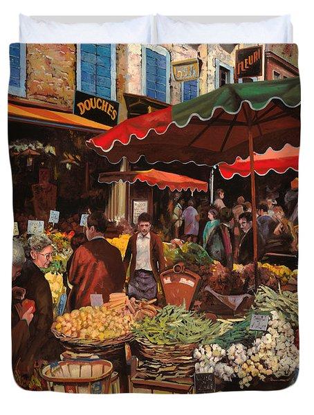 Il Mercato Di Quartiere Duvet Cover
