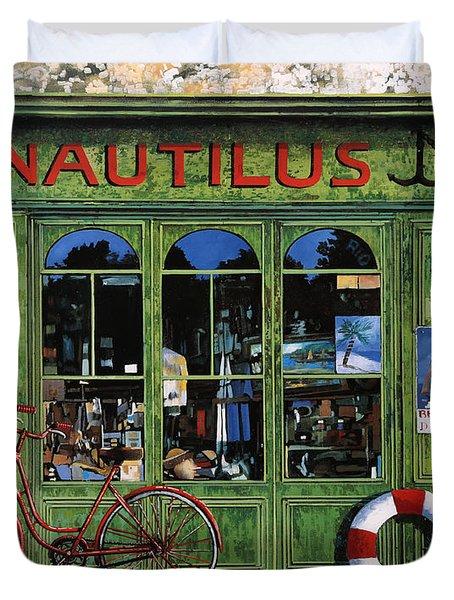 Il Nautilus Duvet Cover