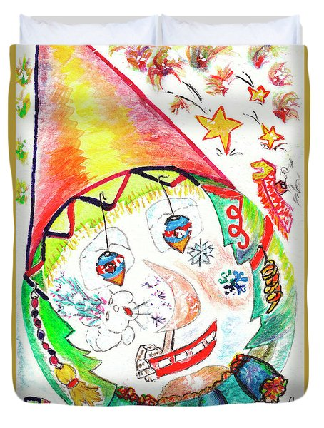 Il Neige Sur Sa Vie // It Is Snowing On His/her Life Duvet Cover