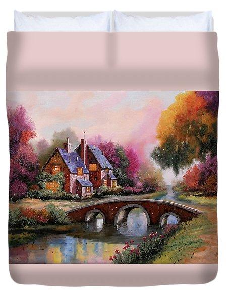 Il Ponticello A Colori Duvet Cover