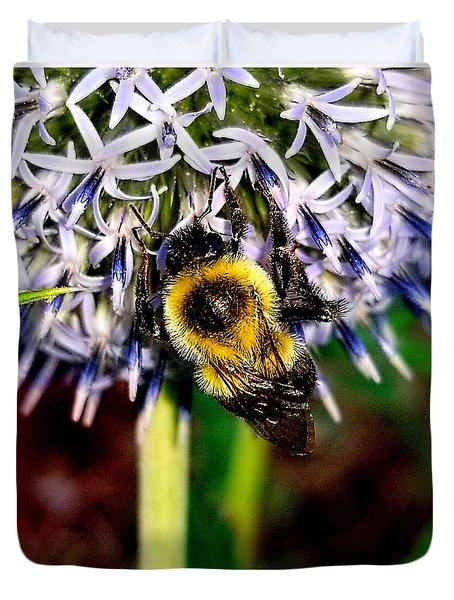 I'll Bee Back Duvet Cover
