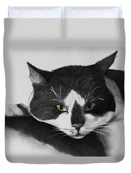 I'll Sleep Anywhere Duvet Cover by John Stuart Webbstock