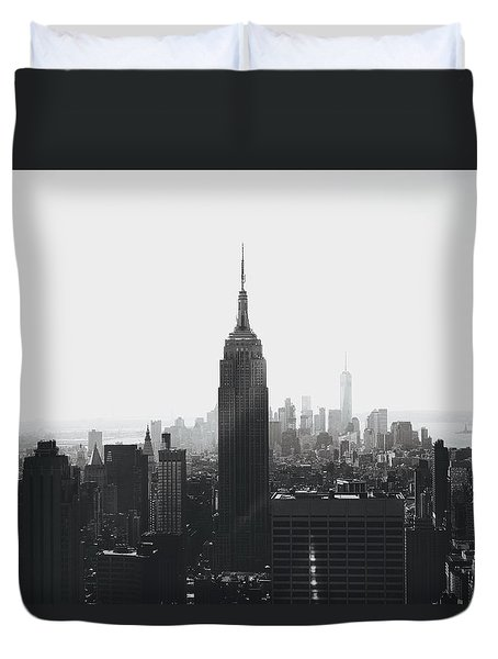 I'll Take Manhattan  Duvet Cover by J Montrice