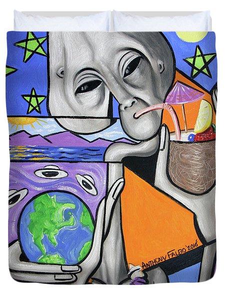 Illegal Alien Anthony Falbo Duvet Cover